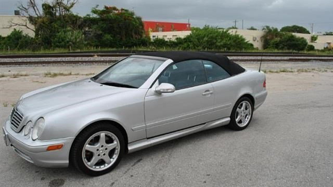 2002 Mercedes-Benz CLK55 AMG Cabriolet for sale 100926749