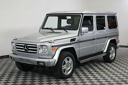 2002 Mercedes-Benz G500 for sale 100888406