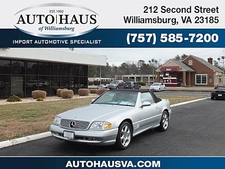 2002 Mercedes-Benz SL500 for sale 100955310