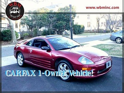 2002 Mitsubishi Eclipse GT for sale 100844526