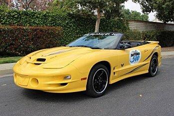 2002 Pontiac Firebird Trans Am Convertible for sale 100856724