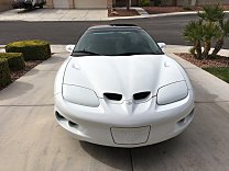 2002 Pontiac Firebird Coupe for sale 100979878