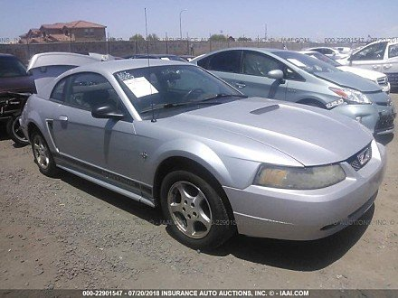 2002 ford Mustang Coupe for sale 101015957