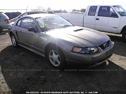 2002 ford Mustang Coupe for sale 101016000