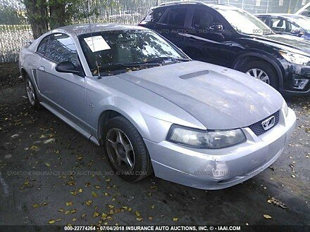 2002 ford Mustang Coupe for sale 101016001