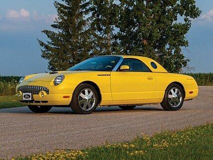 2002 ford Thunderbird for sale 101017879
