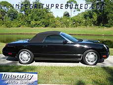 2002 ford Thunderbird for sale 101030954