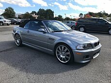 2003 BMW M3 Convertible for sale 100930678