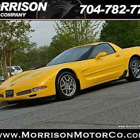 2003 Chevrolet Corvette Z06 Coupe for sale 100756361