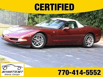 2003 Chevrolet Corvette Convertible for sale 100772050