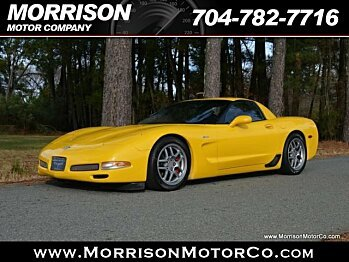 2003 Chevrolet Corvette Z06 Coupe for sale 100833719