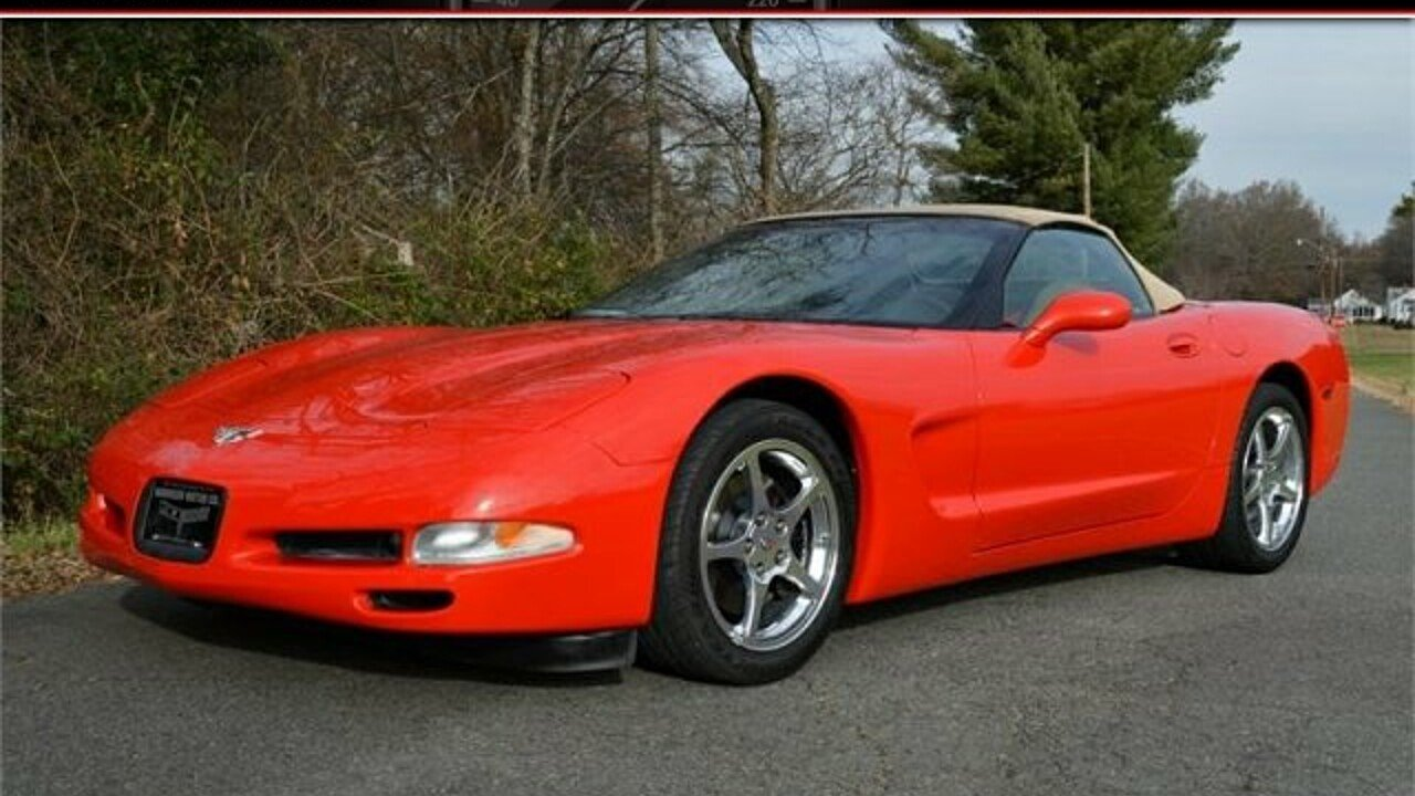 2003 Chevrolet Corvette Convertible for sale 100931584