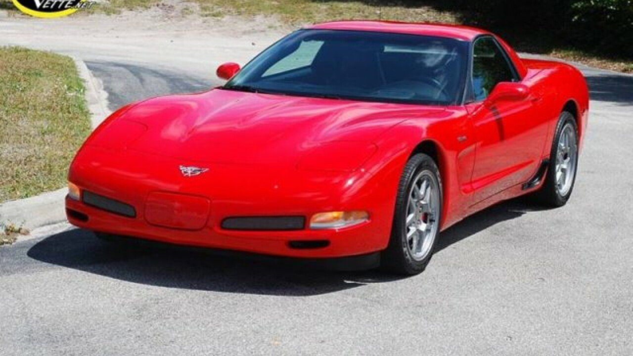 2003 Chevrolet Corvette Z06 Coupe for sale 100966835