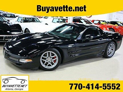 2003 Chevrolet Corvette Z06 Coupe for sale 100863406