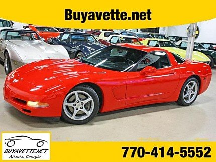 2003 Chevrolet Corvette Coupe for sale 100926600