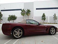 2003 Chevrolet Corvette Convertible for sale 100929236