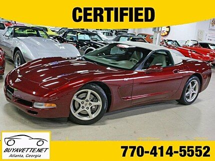 2003 Chevrolet Corvette Convertible for sale 100931644