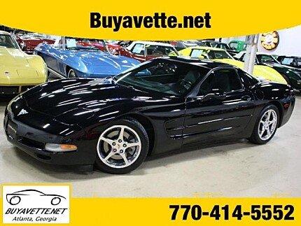 2003 Chevrolet Corvette Coupe for sale 100967457