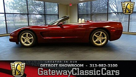 2003 Chevrolet Corvette Convertible for sale 100977684