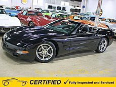 2003 Chevrolet Corvette Convertible for sale 100990273