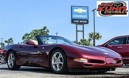 2003 Chevrolet Corvette Convertible for sale 100996237