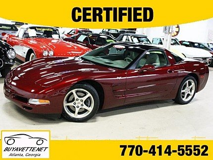 2003 Chevrolet Corvette Coupe for sale 101007807