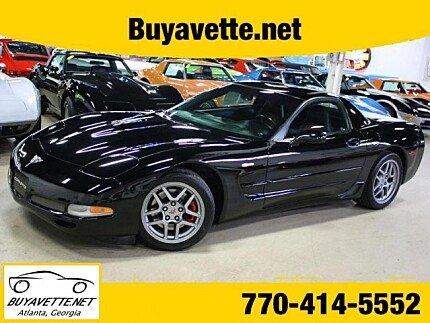2003 Chevrolet Corvette Z06 Coupe for sale 101019279