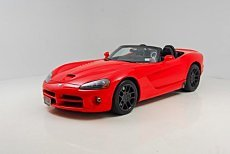 2003 Dodge Viper SRT-10 Convertible for sale 100822152