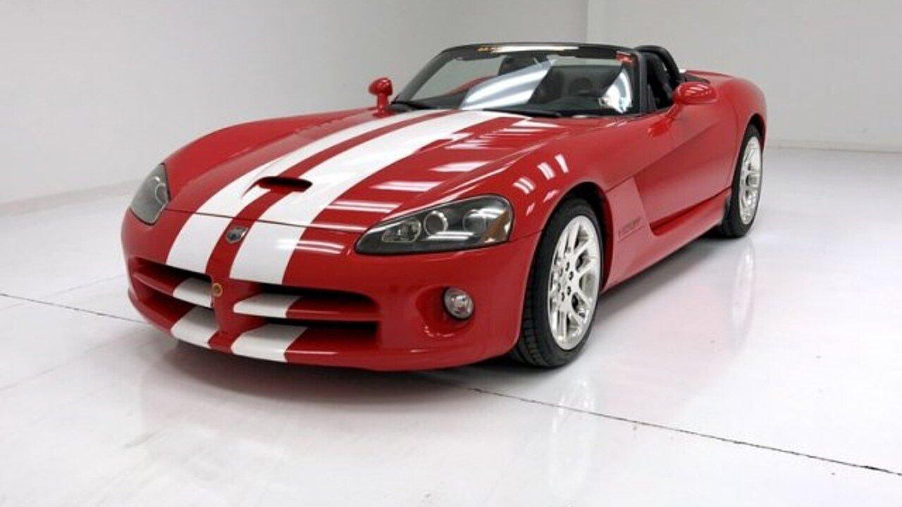 2003 Dodge Viper SRT-10 Convertible for sale 101037463
