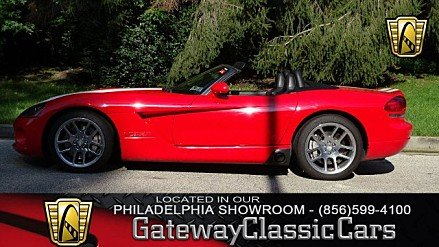 2003 Dodge Viper SRT-10 Convertible for sale 100920166