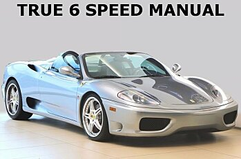 2003 Ferrari 360 Spider for sale 100996089