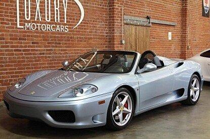 2003 Ferrari 360 Spider for sale 100820463