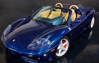 2003 Ferrari 360 Spider for sale 100879675
