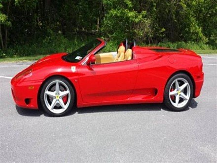 2003 Ferrari 360 Spider for sale 100897723