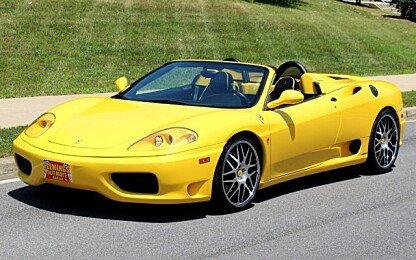 2003 Ferrari 360 for sale 100888542