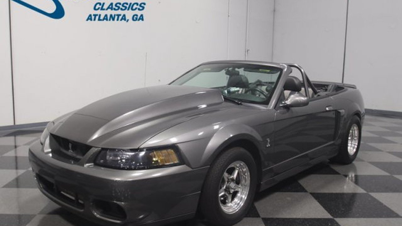 2003 Ford Mustang Cobra Convertible for sale near Lithia Springs ...