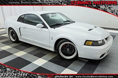 2003 Ford Mustang Cobra Coupe for sale 100855385