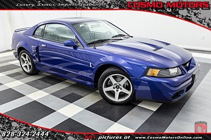 2003 Ford Mustang Cobra Coupe for sale 100881350