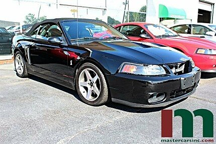 2003 Ford Mustang Cobra Convertible for sale 100923348