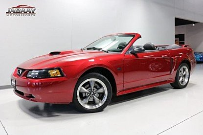 2003 Ford Mustang GT Convertible for sale 100940176