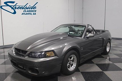 2003 Ford Mustang Cobra Convertible for sale 100970157