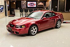 2003 Ford Mustang Cobra Coupe for sale 101019258