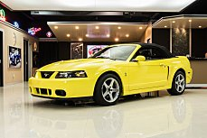 2003 Ford Mustang Cobra Convertible for sale 101044559