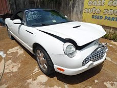 2003 Ford Thunderbird for sale 100290695