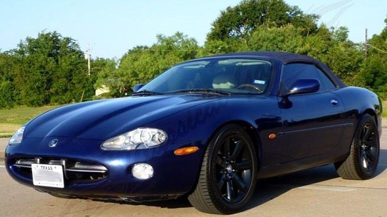 2003 jaguar xk8 convertible for sale near arlington texas. Black Bedroom Furniture Sets. Home Design Ideas