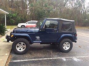 2003 Jeep Wrangler 4WD SE for sale 100741598