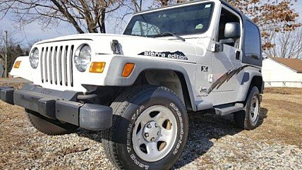 2003 Jeep Wrangler 4WD X for sale 100956814