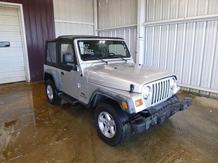 2003 Jeep Wrangler 4WD SE for sale 100973062