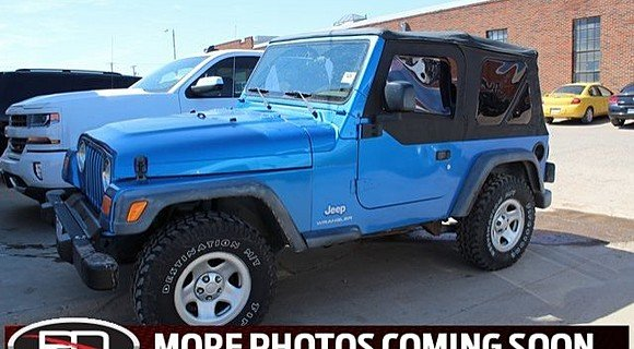 2003 Jeep Wrangler 4WD SE for sale 100980779