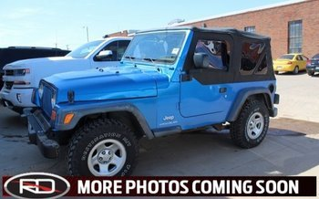 2003 Jeep Wrangler 4WD SE for sale 100980779